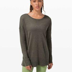 Lululemon sweater *linen*